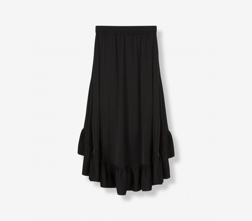 FLOWY RUFFLED SKIRT