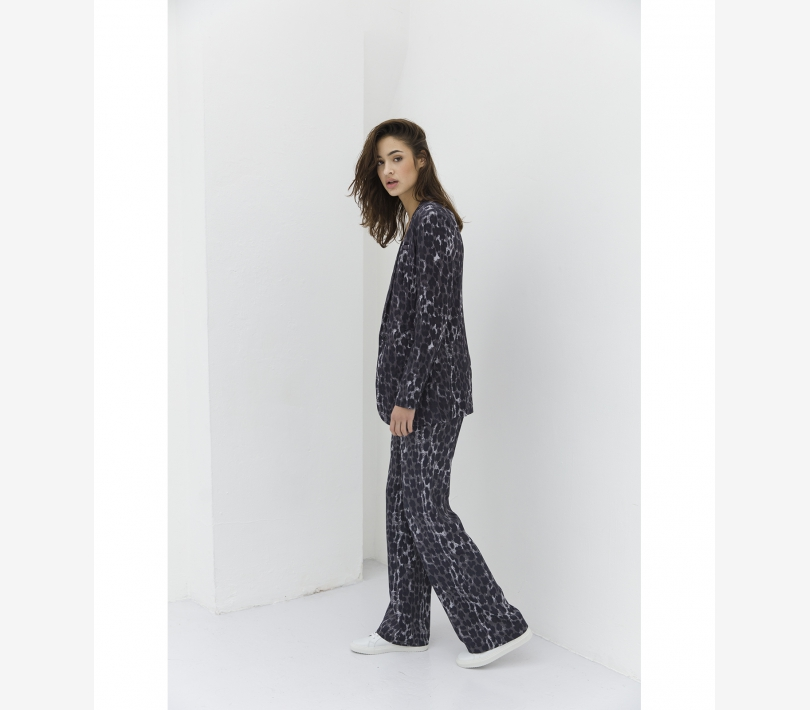 WIDE ANIMAL PANTS