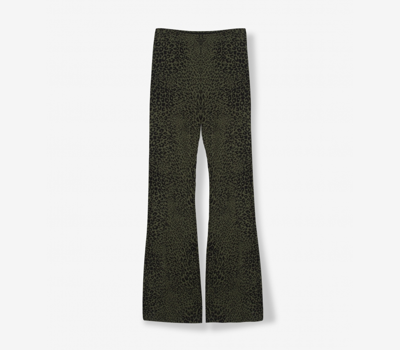 FLARED ANIMAL PANTS