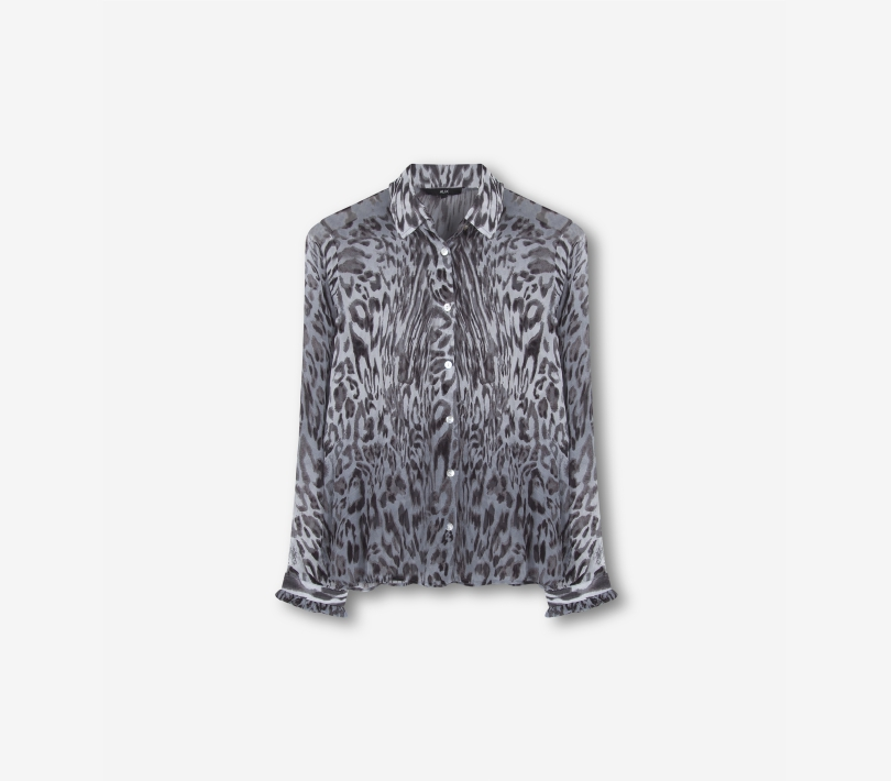 FADED ANIMAL BLOUSE