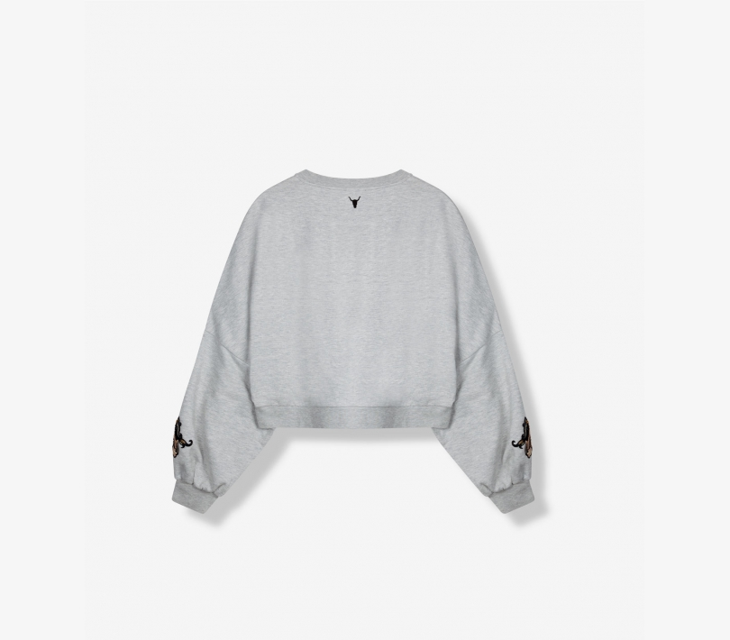 PATCH SWEATER