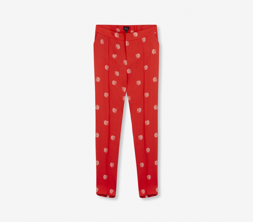 DOT LEOPARD PANTS