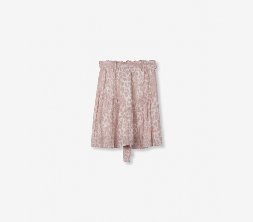 FEATHER ANIMAL SKIRT