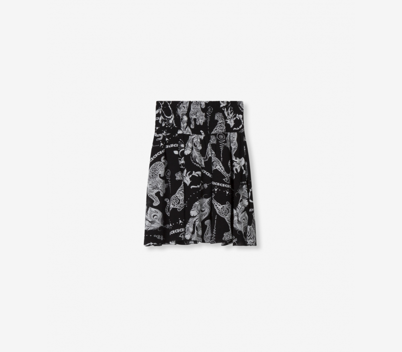 GRAPHIC ANIMAL SKIRT