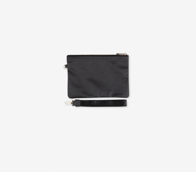 FAKE LEATHER CLUTCH