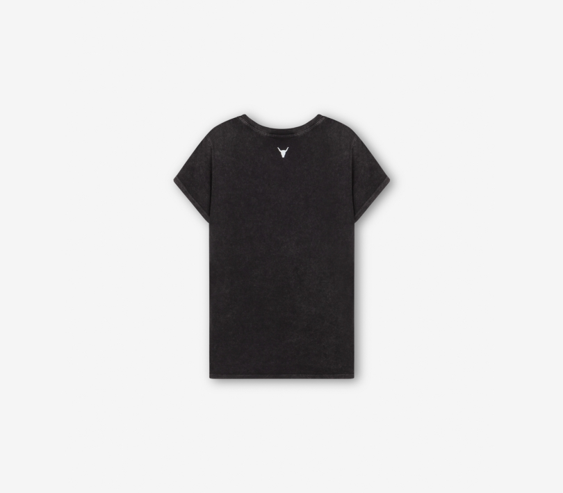 Washed t-shirt black ALIX The Label
