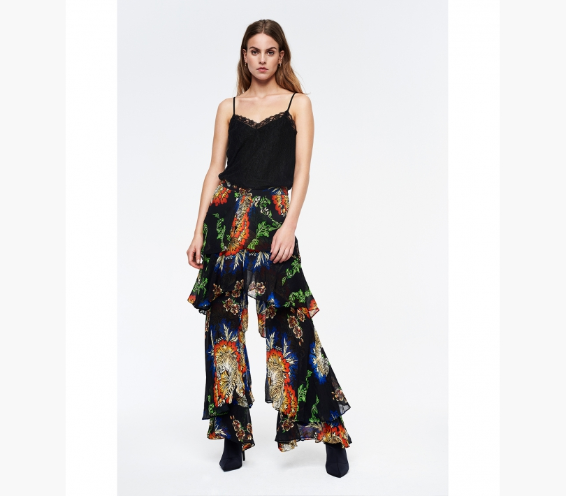 FANCY CHIFFON PANTS
