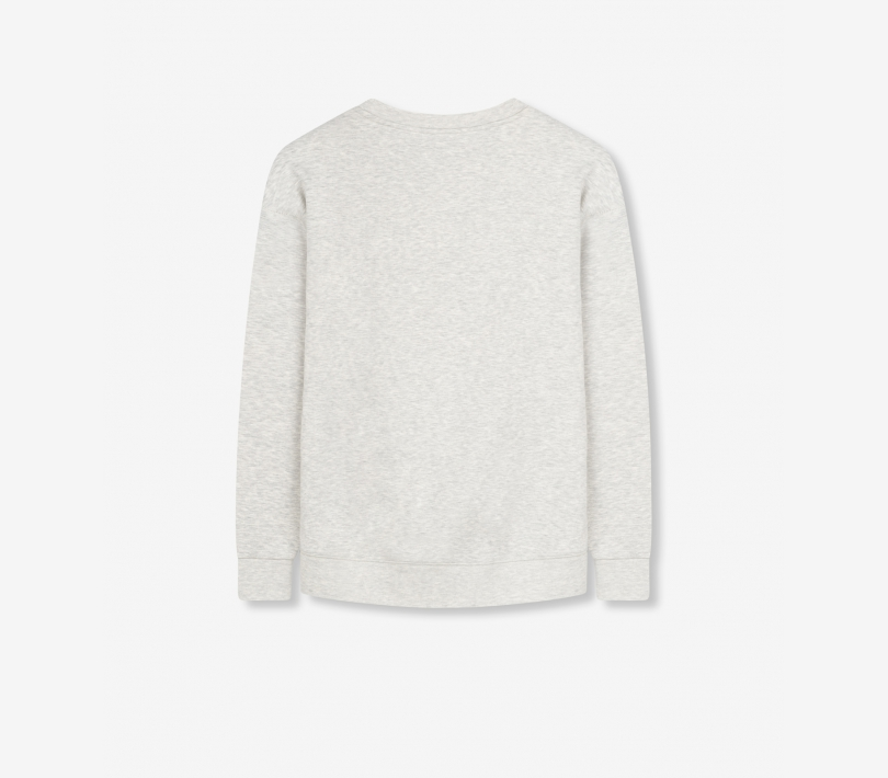 Alix sweater soft grey melange ALIX The Label