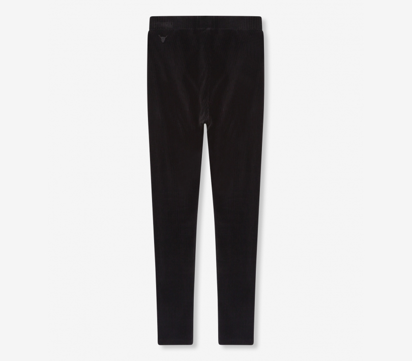 Rib velvet legging black ALIX The Label