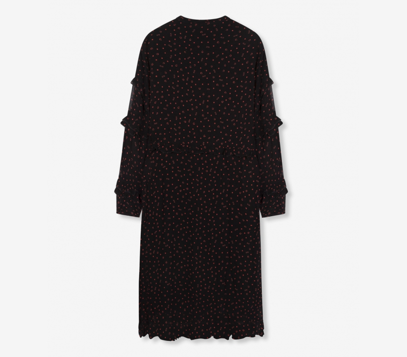 Alix print dress black ALIX The Label