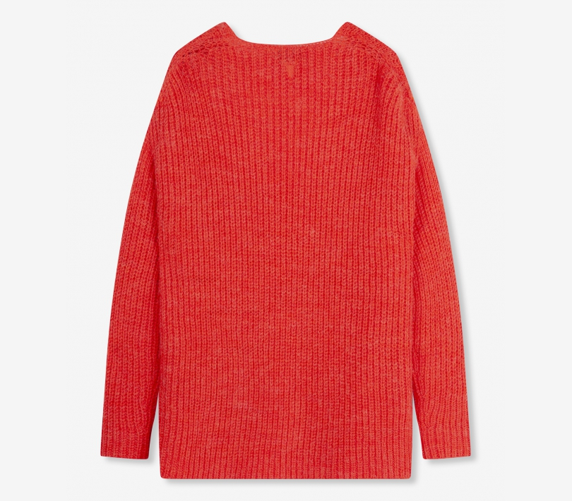 Knitted pullover soft coral ALIX The Label