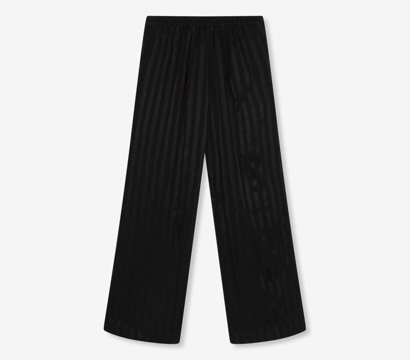 STRIPE VISCOSE PANTS