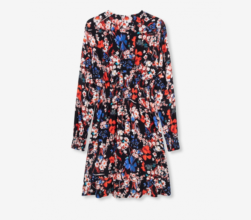 Flower dress black ALIX The Label