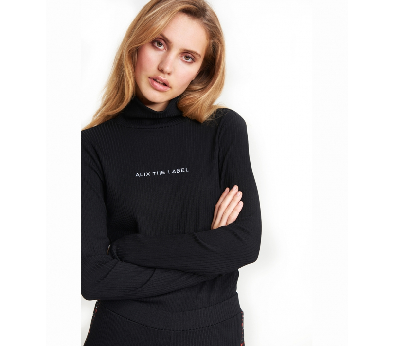 Long sleeve top black ALIX The Label