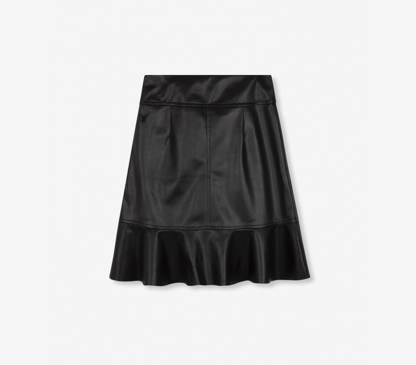 Faux leather skirt black ALIX The Label