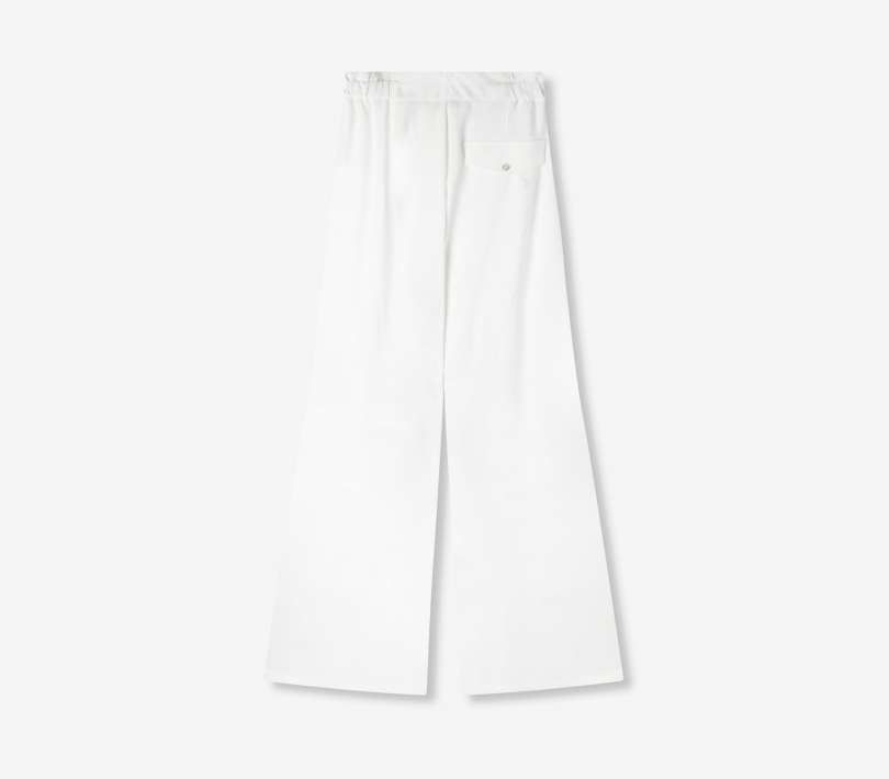 Wide leg pants soft white ALIX The Label