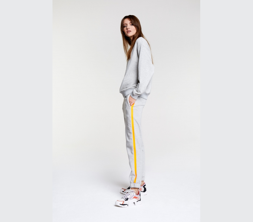 Sweat pants light grey melange ALIX The Label