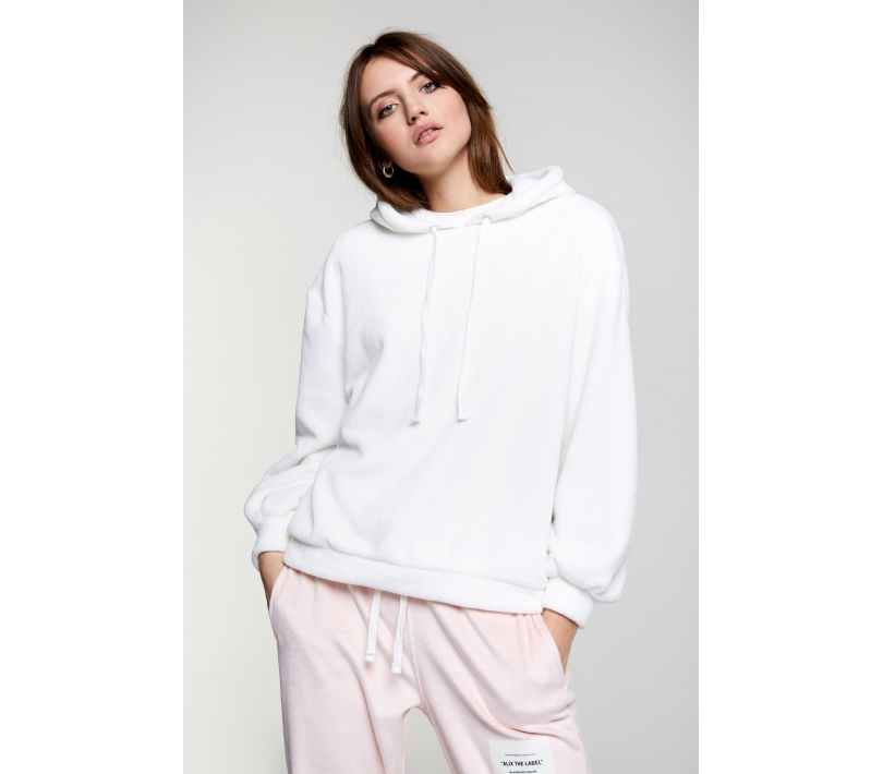 Soft hoodie soft white ALIX The Label