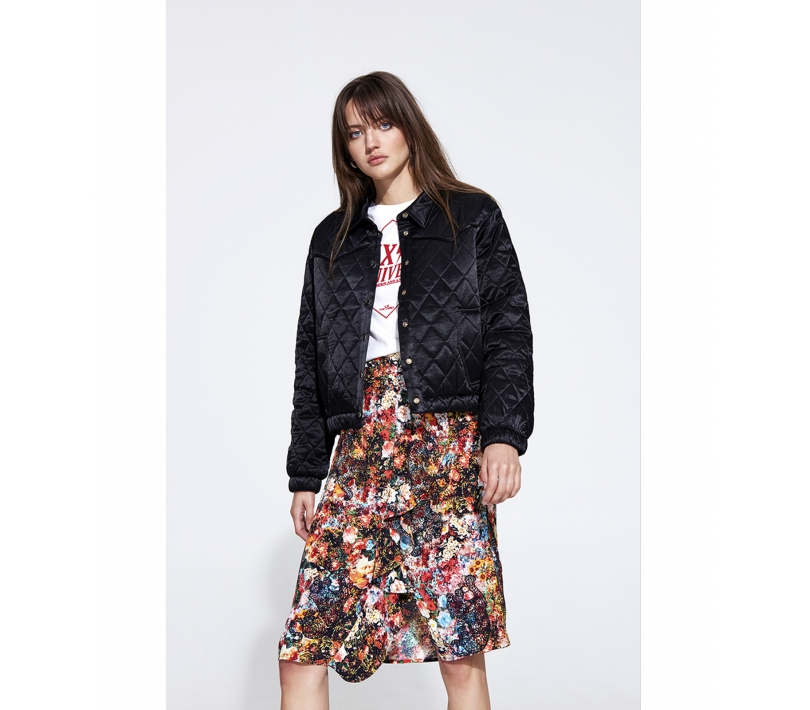 Satin jacket black ALIX The Label