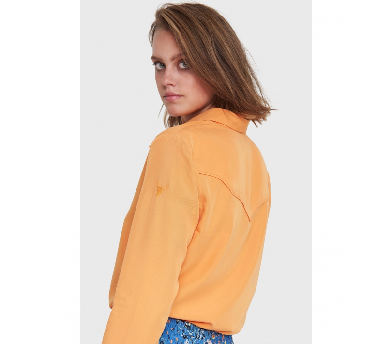 Modal blouse soft orange ALIX The Label