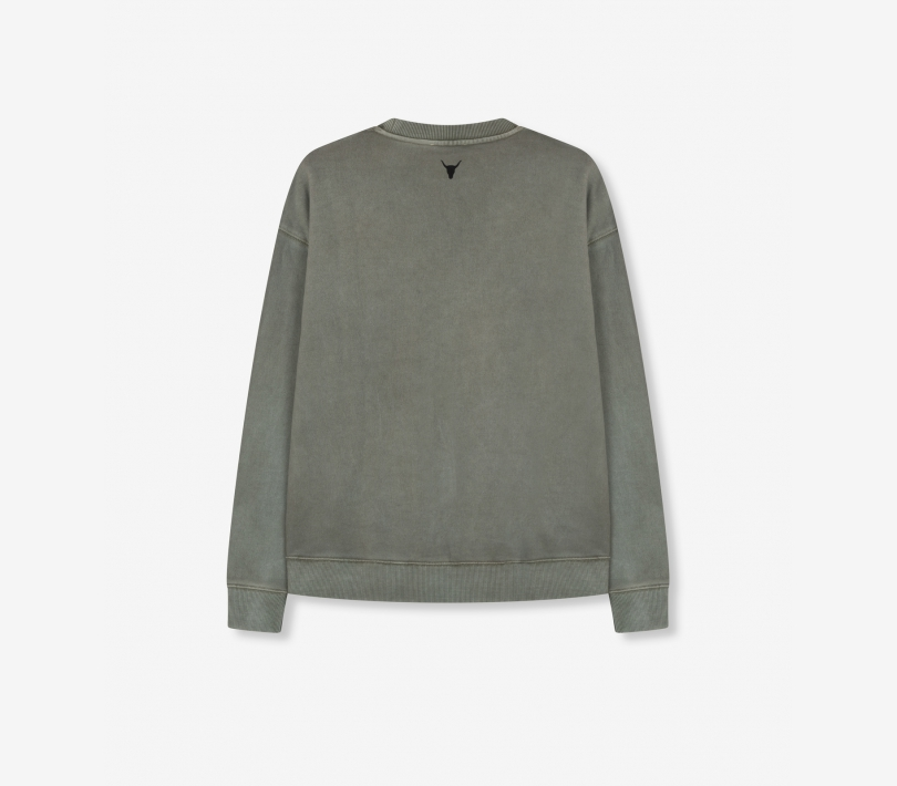 Alix sweater pale army ALIX The Label