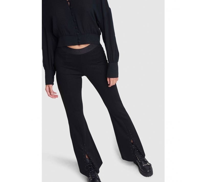 Flared pants black ALIX The Label