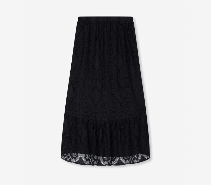 Mid lace skirt black ALIX The Label