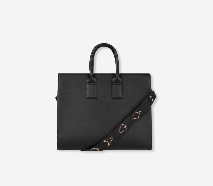 Faux leather alix bag black ALIX The Label