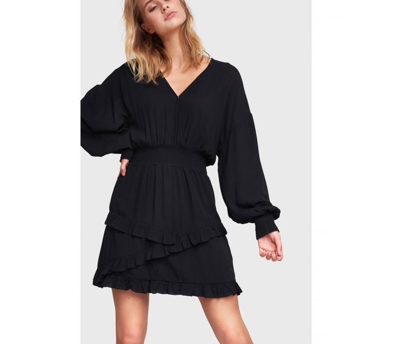 Viscose dress black ALIX The Label