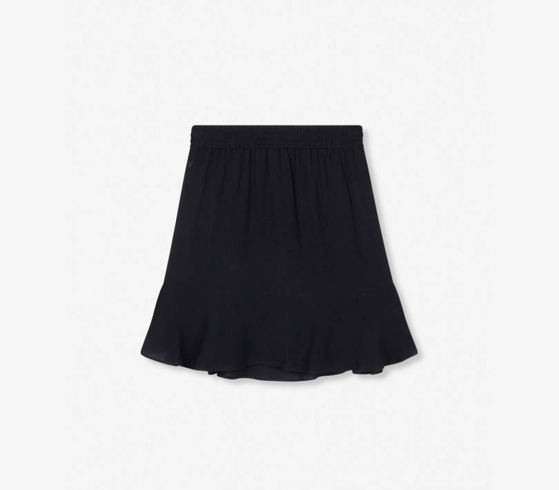 Short viscose skirt black ALIX The Label