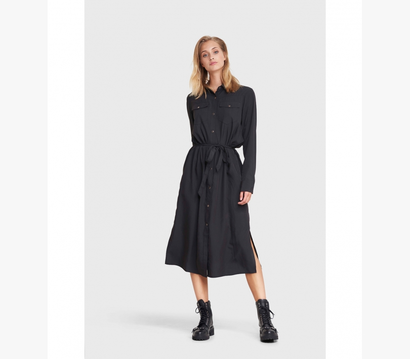 Modal tunic dress black ALIX The Label