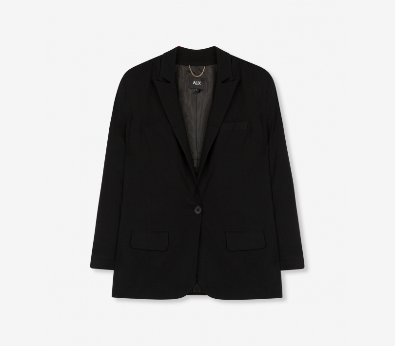 Woven blazer black ALIX The Label