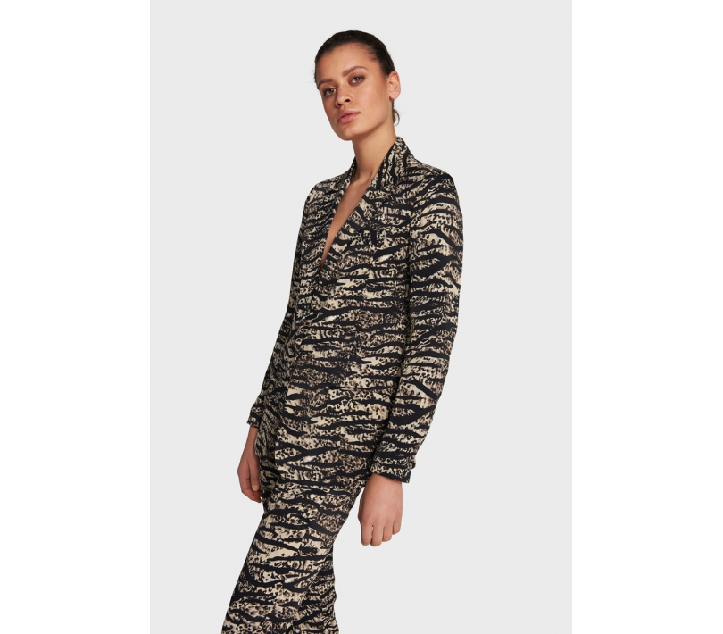 Animal flow blazer animal ALIX The Label