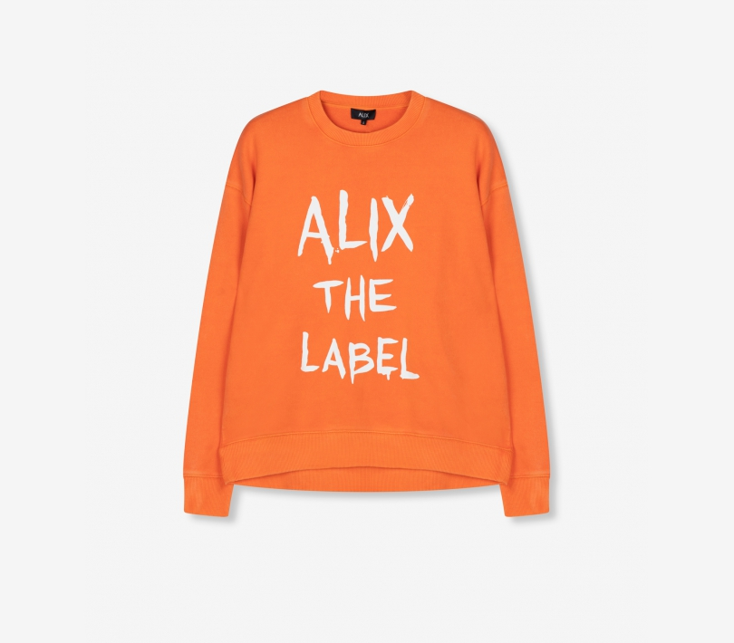 Alix sweater spicy coral ALIX The Label