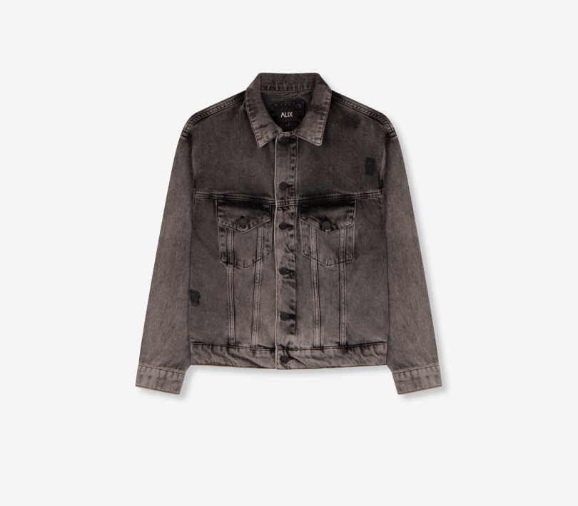 Denim jacket quiet grey ALIX The Label