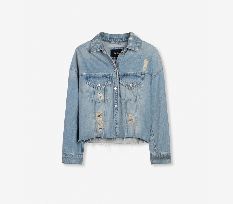 Denim jacket denim blue ALIX The Label