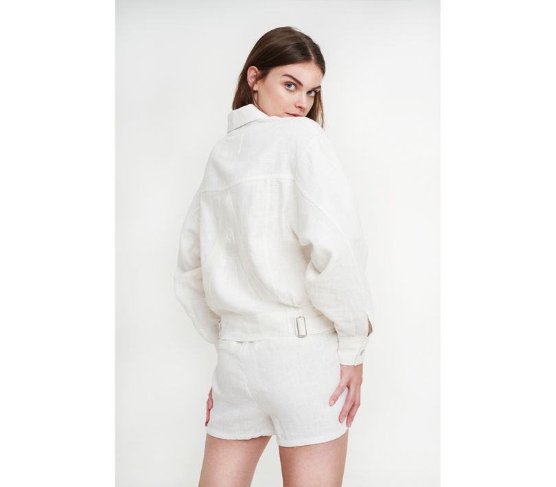 Ramie jacket off white ALIX The Label