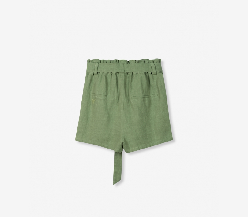 Ramie shorts faded army ALIX The Label
