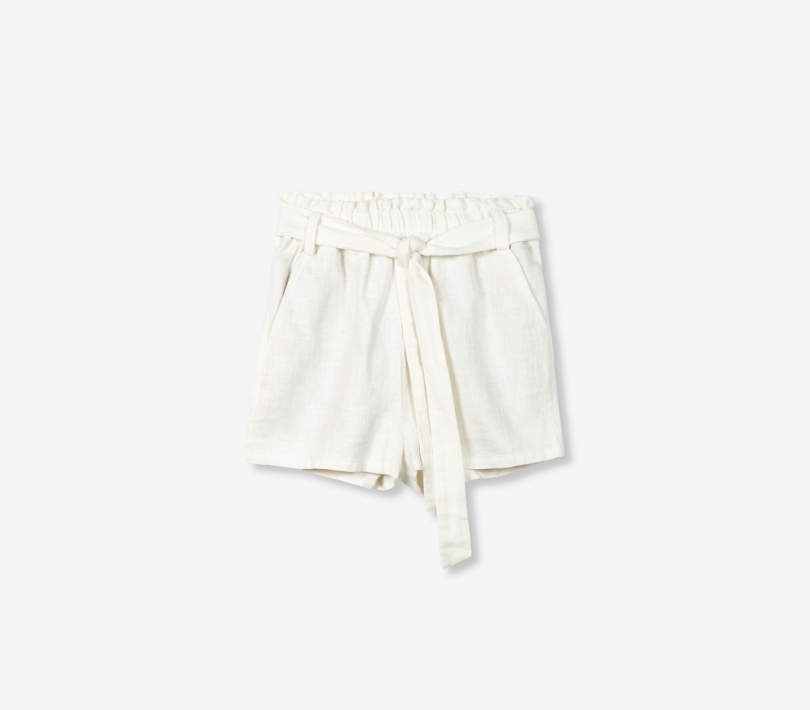 Ramie shorts off white ALIX The Label
