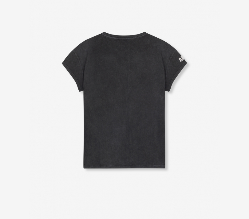 Washed classy t-shirt black ALIX The Label