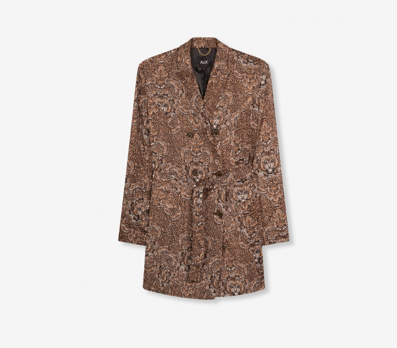 Graphic animal blazer animal ALIX The Label