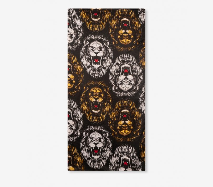 Lion scarf black ALIX The Label