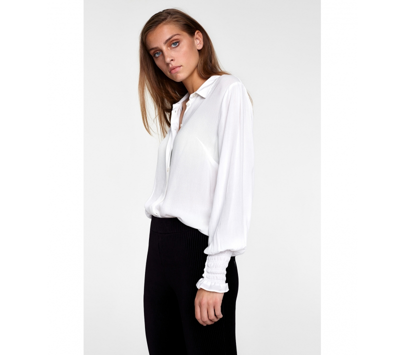 Viscose blouse soft white ALIX The Label