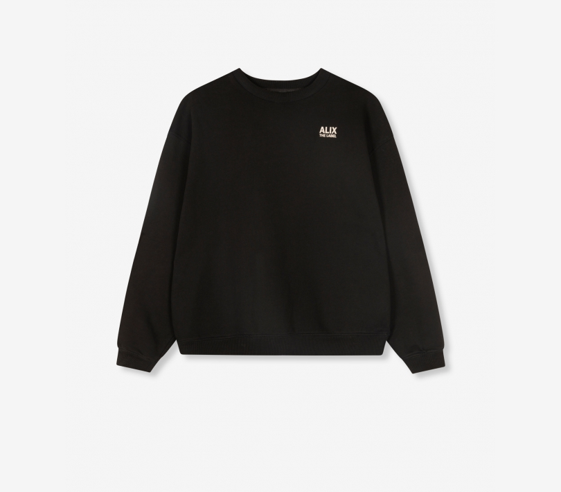 Oversized on tour sweater black ALIX The Label