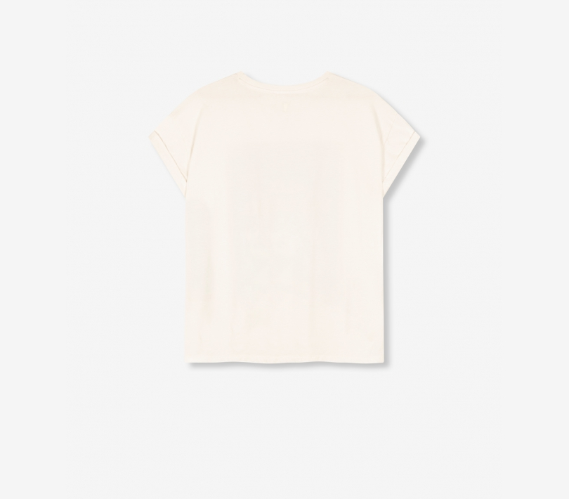 Movie t-shirt soft white ALIX The Label