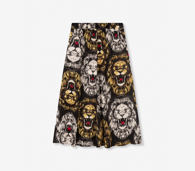Lion maxi skirt black ALIX The Label