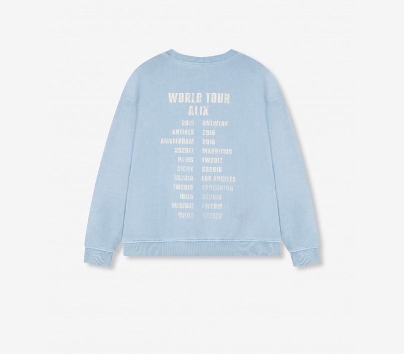 Oversized on tour sweater royal blue ALIX The Label