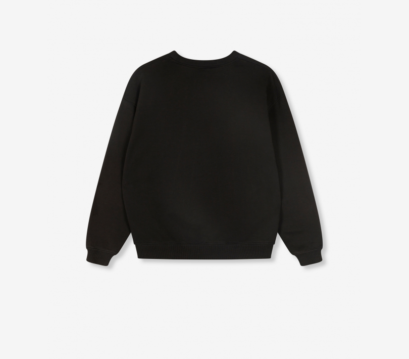 Oversized bull sweater black ALIX The Label
