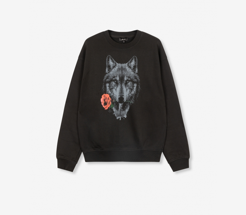 Wolves sweater black ALIX The Label