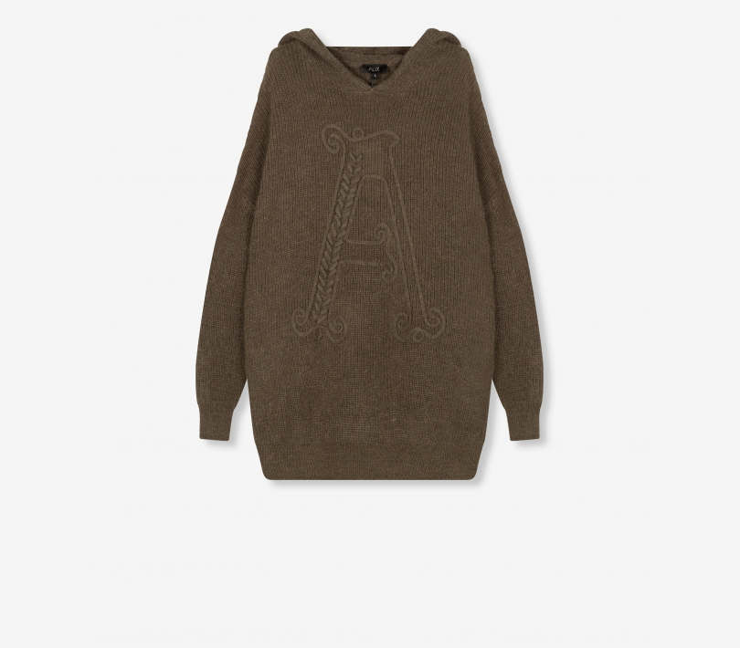 Oversized hoody dark olive ALIX The Label